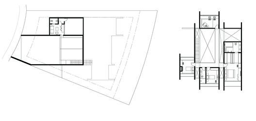 Underground and First Floor Plans