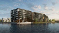 Orange Architects Wins Competition to Build Mixed-Use Development on Amsterdam Harbor