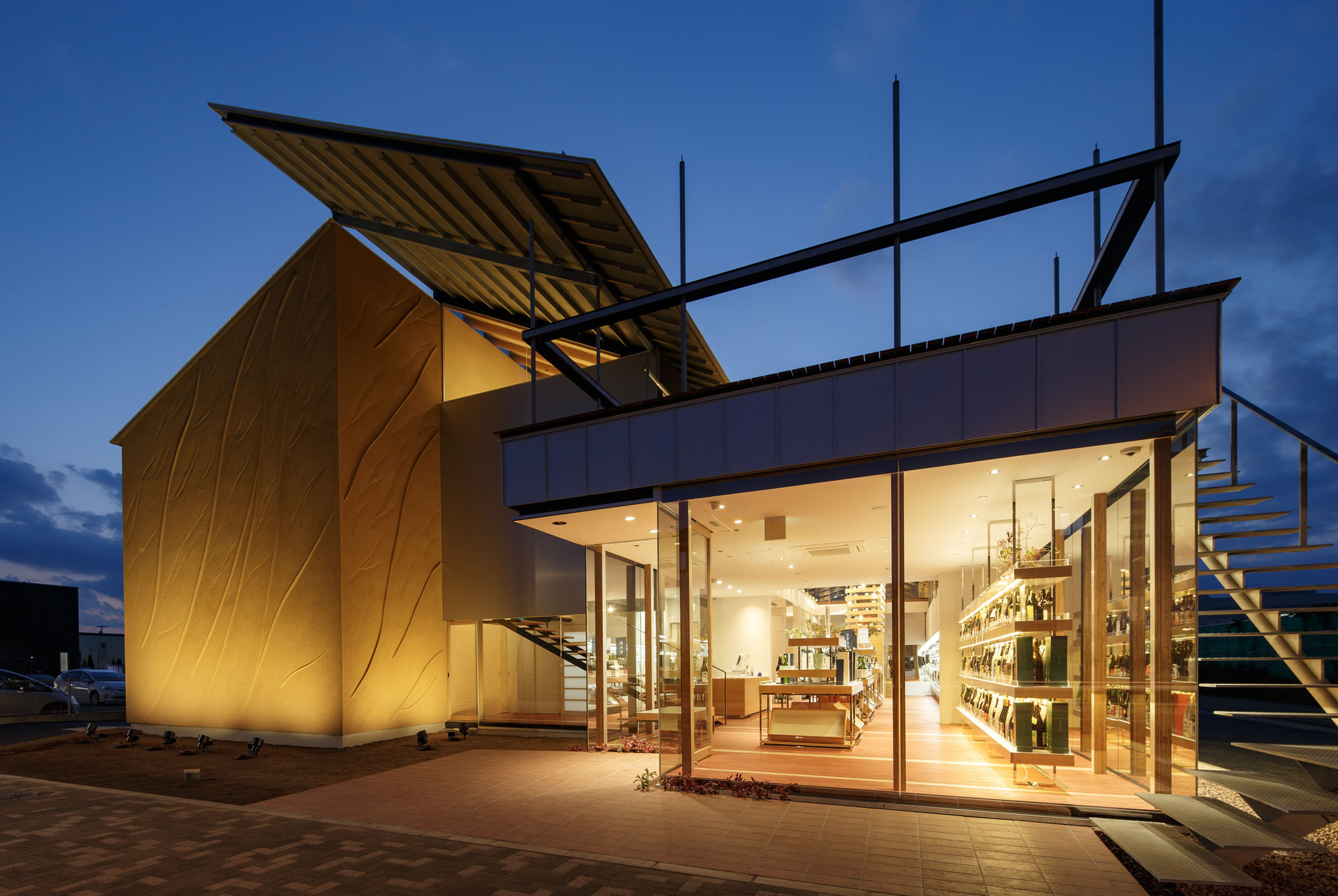 ono sake warehouse eureka g architects studio archdaily. Black Bedroom Furniture Sets. Home Design Ideas