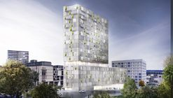 RKW Architektur + Wins Competition for Stone-Clad Mixed-Use Building in Stuttgart