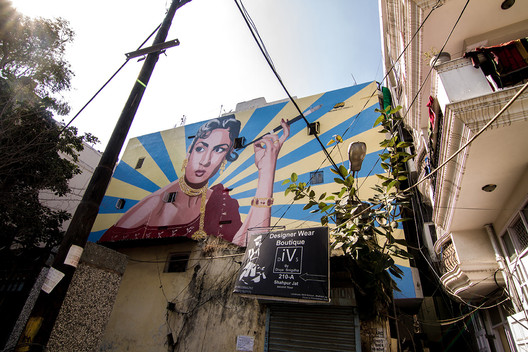 Artwork by Ranjit Dhaiya, Shahpur Jat, Delhi