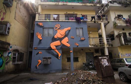 Artwork by Harsh Raman, Shahpur Jat, Delhi