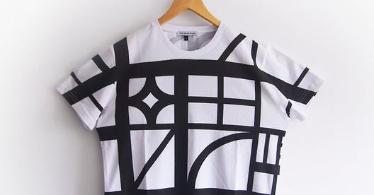 "Sam Jacob Studio's ""Half Timbered"" T-Shirt. Image © Sam Jacob Studio"