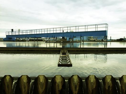 Anthropocene Island. Wastewater Treatment Plant, 2017. Image Courtesy of ecoLogicStudio