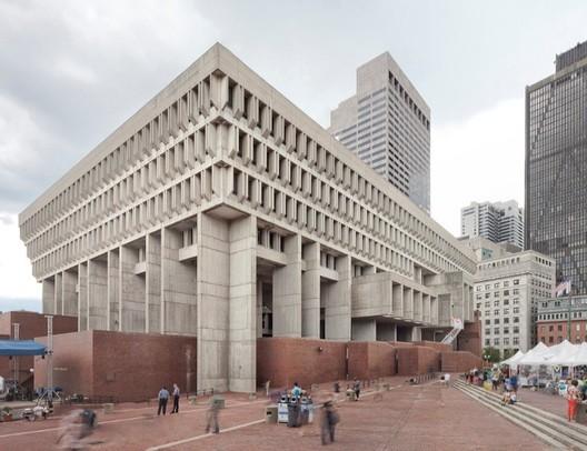 Boston - City Hall Plaza. Image credit: Naquib Hossain/Dotproduct Photography. Image Courtesy of Getty Foundation