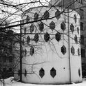 The Melnikov House. View from the courtyard. 2015. Photo © Pavel Kuznetsov. Image Courtesy of Getty Foundation