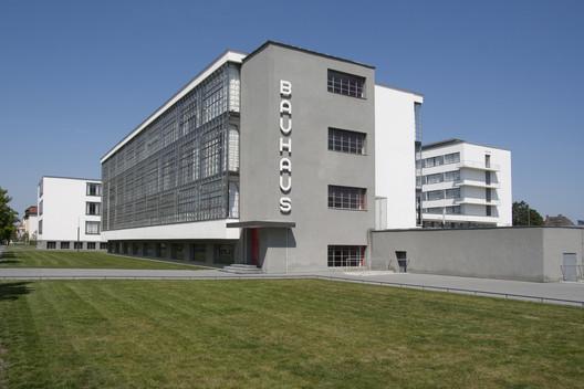 Bauhaus Dessau © Bauhaus Dessau Foundation, Photograph: Yvonne Tenschert, 2011. Image Courtesy of Getty Foundation