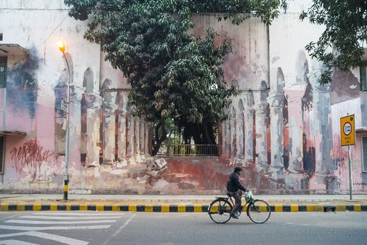The Origin of the World by Borondo, Lodhi Colony, Delhi