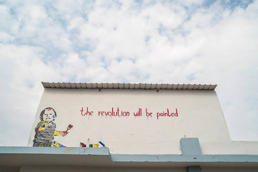 The Painted Revolution by Tyler, Delhi