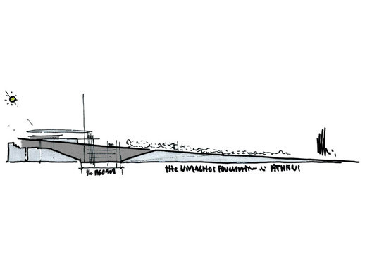 Sketch - Stavros Niarchos Foundation Cultural Center / Renzo Piano Building Workshop