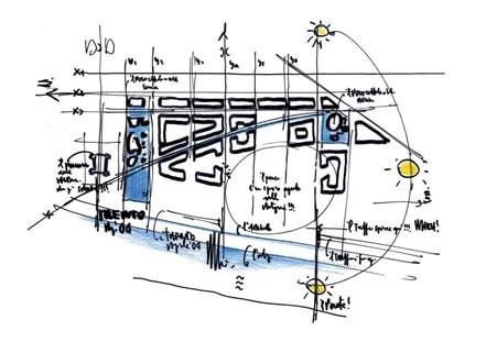 Sketch - MUSE / Renzo Piano
