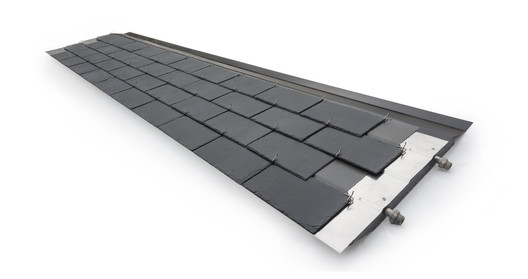 Thermoslate® System with Hook. Image Courtesy of Cupa Pizarras