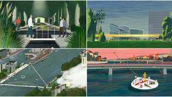 KOSMOS crea 6 intervenciones especulativas a espacios públicos para Basel