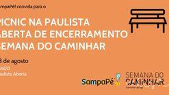 Picnic na Paulista Aberta de Encerramento da Semana do Caminhar
