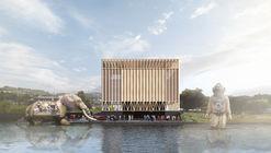 Este es el 'Teatro de Todos', el diseño ganador del Teatro de Las Artes de Panguipulli