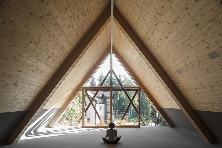 San José en el bosque / Messner Architects, © Davide Perbellini