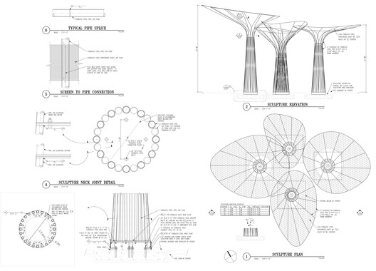 Elevation, Plan and Details