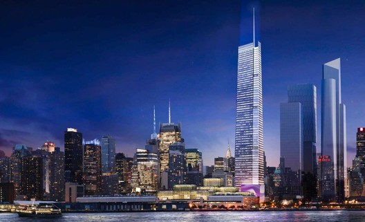 Rendering of the updated design. Image © FXFOWLE. Via New York YIMBY