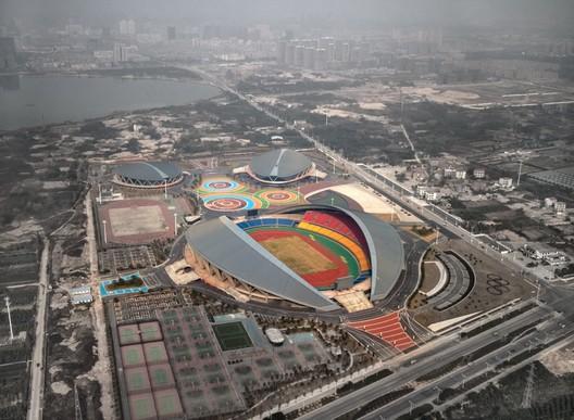 Aerial view. Image © Zhang Yong