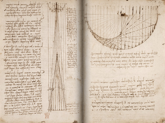 The British Library Releases 570 Pages of Leonardo da Vinci's Manuscripts Online