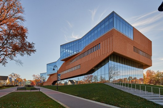 Educational (Higher Education): Kent State University College of Architectural & Environmental Design – Kent, Ohio. Image © Jim Maguire Photography