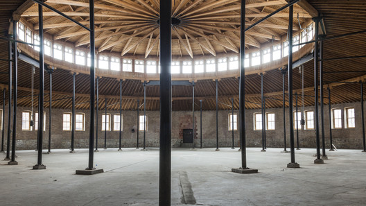 "Roundhouse, DuSable Museum of African American History, 2017, Chicago. Photo: Assaf Evron. From the 2017 organizational grant to Palais de Tokyo for ""Singing Stones"". Image courtesy of The Graham Foundation"