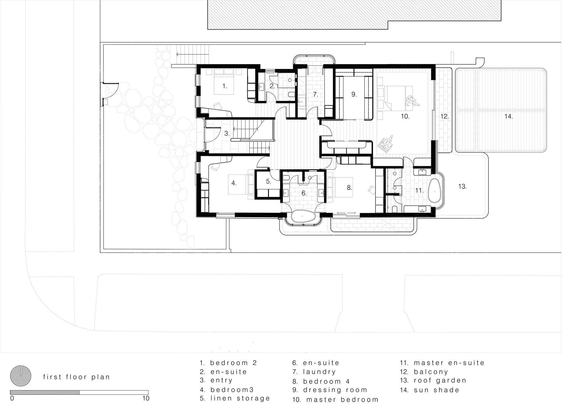 gallery of the new twin peaks luigi rosselli 24 first floor plan