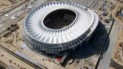 Este timelapse revela cómo se levantó la cubierta del Wanda Metropolitano en Madrid