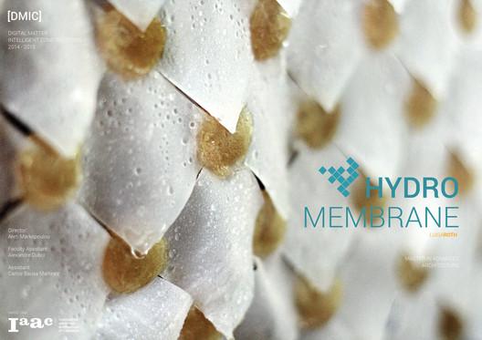 Hydromembrane. Image Cortesía de IAAC