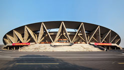 Sports Center of Jinhua City / The Architectural Design and Research Institute of Zhejiang University
