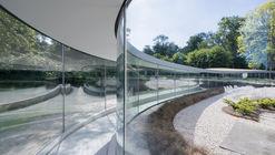Glass Visitor Center Park Vijversburg / junya ishigami + associates