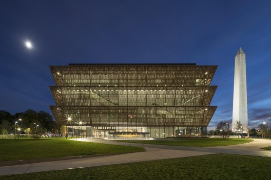 Smithsonian National Museum of African American History and Culture / Adjaye Associates. Image Courtesy of Design Museum