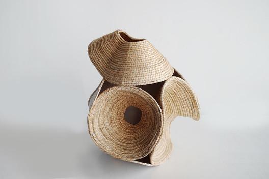 Wood Basket by Terrol Dew Johnson and Aranda\Lasch, 2016. Image Courtesy of Aranda\Lasch