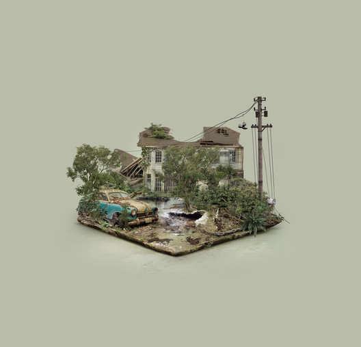 Explore These Digitally-Created Abandoned Islands by Brazilian Designer Fabio Araujo