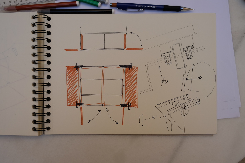 Hidden Studio Beneath a Busy Bridge Provides Creative Solitude for Its Designer,Courtesy of Fernando Abellanas