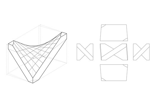 Block geometry. Image Courtesy of New Fundamentals Research Group