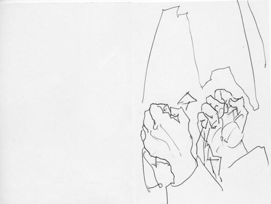 Alvaro Siza / Portugal. Image © Sketch for Syria
