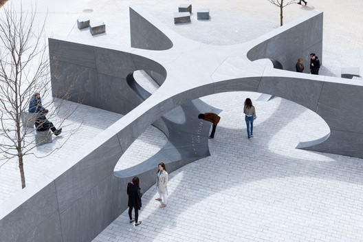 Collier Memorial by Höweler + Yoon. Image Courtesy of Boston Society of Architects/AIA