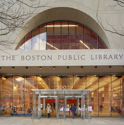 Boston Public Library, Central Library Renovation Project (Transformation of the Johnson Wing) by William Rawn Associates, Architects. Image Courtesy of Boston Society of Architects/AIA