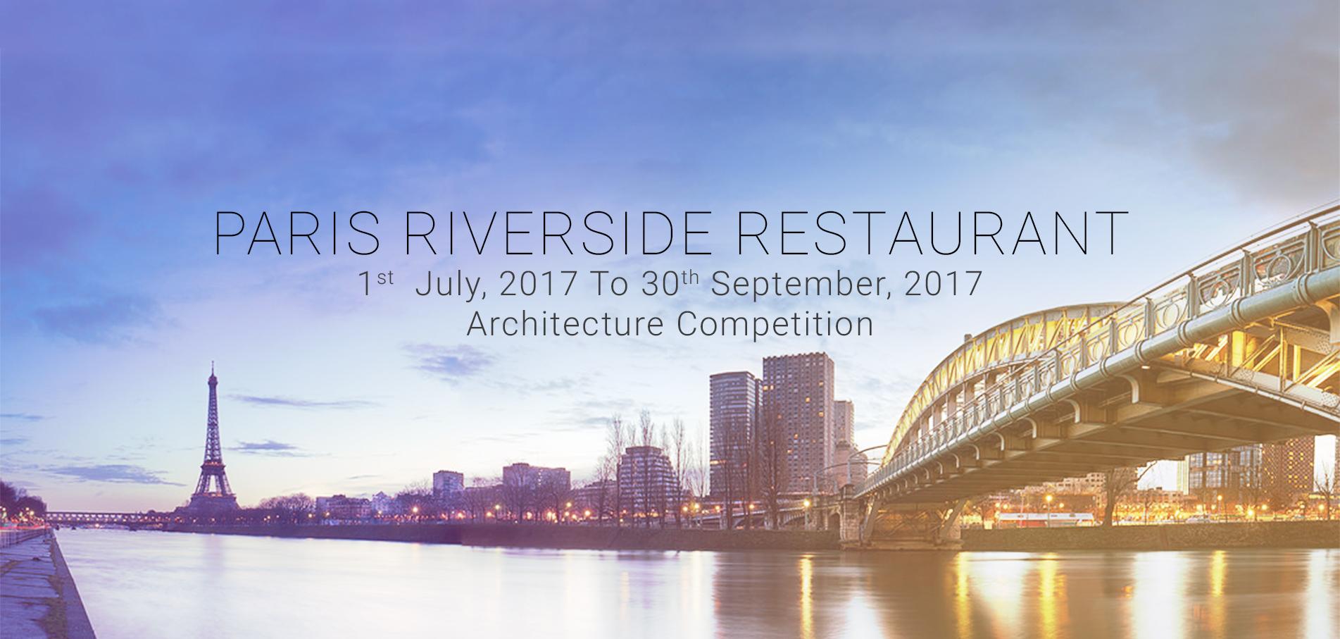 open call: paris riverside restaurant | archdaily