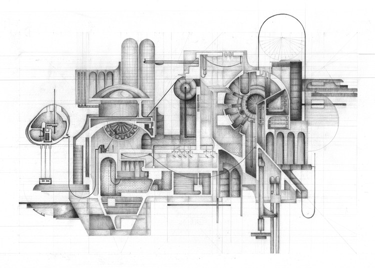 The 80 best architecture drawings of 2017 so far archdaily for Architecture drawing