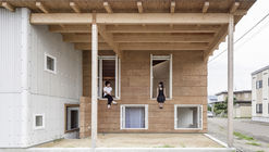 Roof and Rectangular House / Jun Igarashi Architects