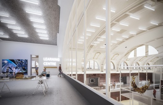 Learning Center. Image © Mecanoo Architecten