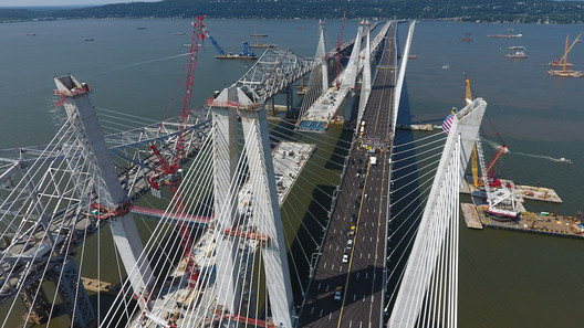 The bridge today (Aug 24). Image Courtesy of New York Governor's Office