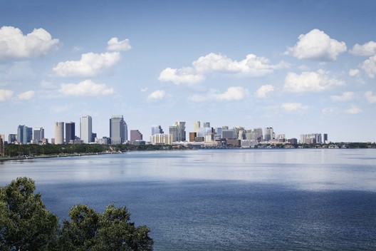 Tampa skyline, after. Image Courtesy of Water Street Tampa
