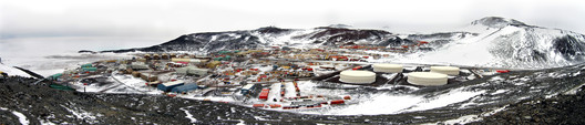 Current McMurdo Station. Image © Peter Somers