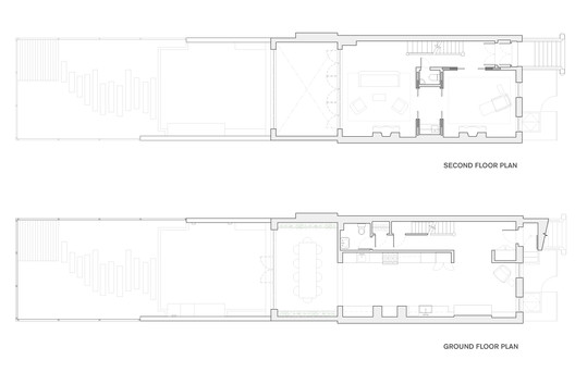 Ground and Second Floor plans