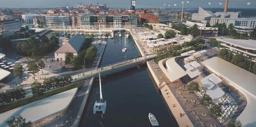 Courtesy of Port of Tallinn / Zaha Hadid Architects