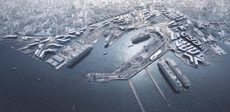 Zaha Hadid Architects gana concurso para el plan maestro del puerto de Tallin en Estonia, Cortesía de Puerto de Tallin / Zaha Hadid Architects