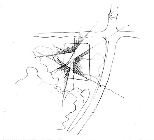 Sketch. Image Courtesy of TANGHUA ARCHITECT & ASSOCIATES